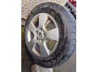Wheel & tyre 205/60/15 VW, Seat, Skoda, Audi