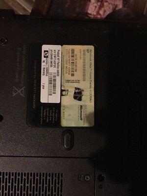 HP Pavilion dv6400 Entertainment Notebook PC series broken screen  for part