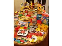 """Large collection of Peppa Pig toys including """"Make and Bake"""" items"""