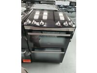 ZANUSSI 60 cm Electric Ceramic Cooker - Stainless Steel Ex diplay (12 Months Warranty)