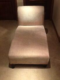Cream chaise longue