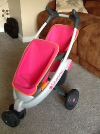 Quinny double stroller