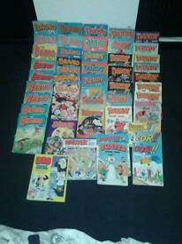 Dandy, Beano and Various Comics.