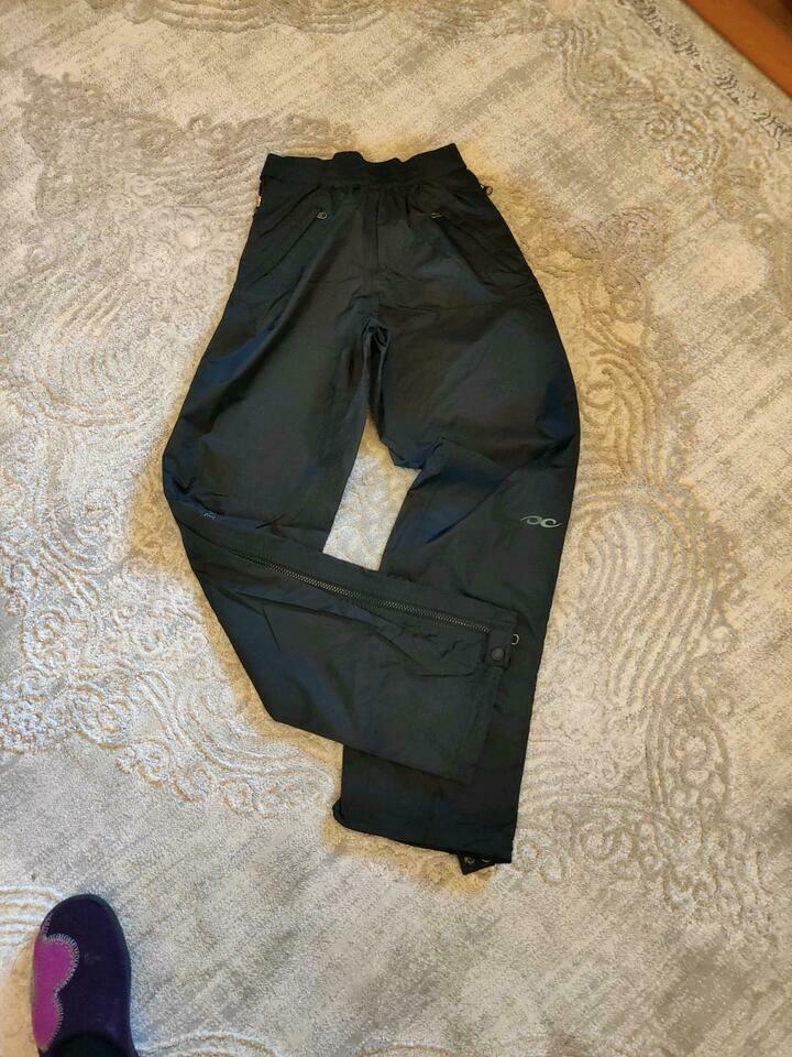Marmot Hose schwarz leichte Regenhose für Damen Gr. XS