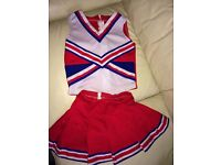 Gorgeous Cheerleading Costume-the real deal
