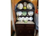 Vintage shabby chic cute dresser with decorative top