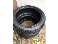 Two new 255/40 R19 tyres for sale