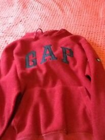 Fleece GAP hoody, size S