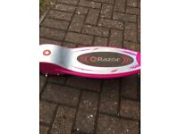 Razor electric scooter E100 pink