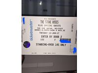 2 Standing Stone Roses Tickets FACE VALUE