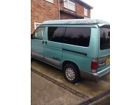 MAZDA BONGO MOTORHOME / CAMPER IN LOVELY CONDITION FULL MOT - NEEDS REPAIR - READ DESCRIPTION