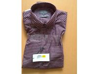 M & S shirt large size, pure cotton. New with tag.