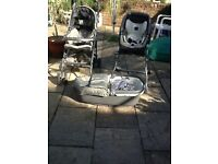 Mamas & Papas Pliko P3 travel system - pushchair, crib, car seat & stand combination