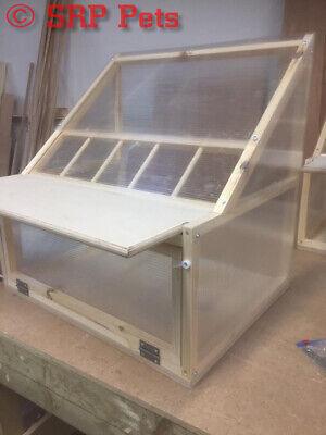 SRP PETS™ Timber & Polycarbonate Sputnik - Racing Pigeon Loft 20 3/8