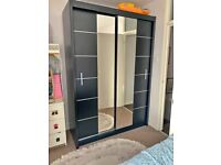 💥Hot Sale on Lisbon 2 Door Sliding Mirror Wardrobe💥 Limited Stock Available ⏳