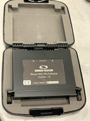 Sunrise Telecom Alcatel Adsl Atu-r Module Ssxdsl-15