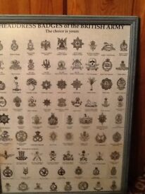 Badges of British army