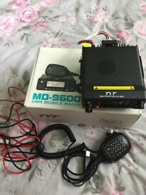 BOXED TYT MD9600 DMR DUAL BAND MINT