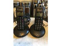Pair Of Home BT Phones Full Working Order