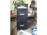 Marshall amp mini full stack MG15HCFX condition as good as new