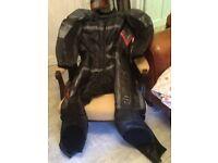 Motorbike leathers frank Thomas UK 44
