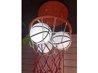 EcoBrite - LED Children's Lights - Colour Changing Basket Ball Hoop
