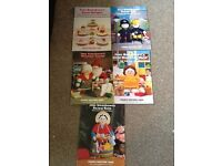 5 Jean greenhowes knitting pattern books excellent condition