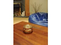 18 Small Golden Bubble Distressed Tealight Holders