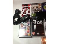 Psp street very good working condition with games and accessories
