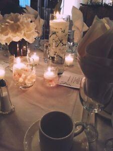 Wedding table centerpieces / decor
