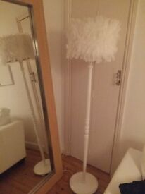 Statement one off design floor lamp - perfect working condtion.