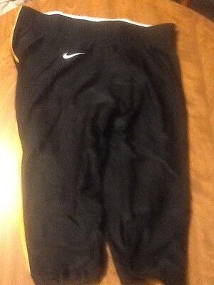 Nike adult extra large xl football pant, black with yellow stripe, - Adult Striped Football Pants