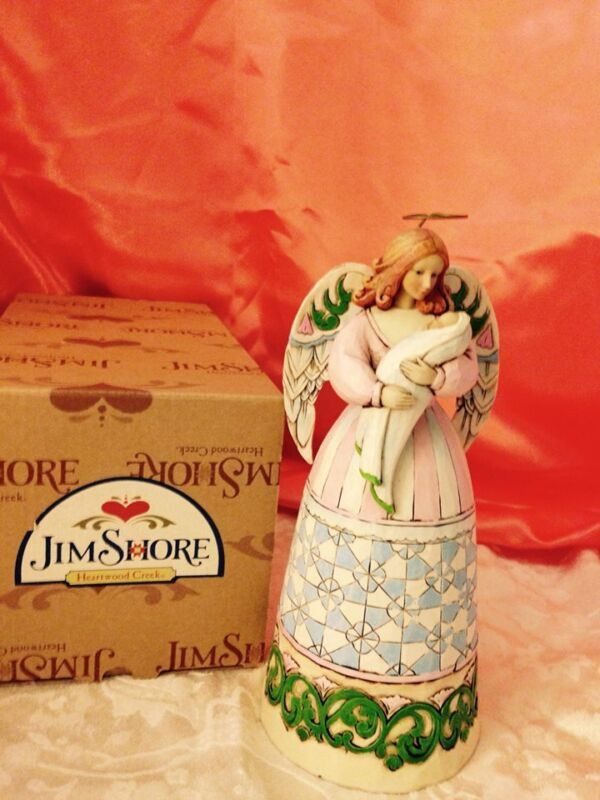 "Jim Shore Angel ""Love and You Will be Loved"" (Was $49.99) 20% discount"