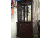 Storage and display cabinet