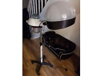 Professional hairdressing hair steamer