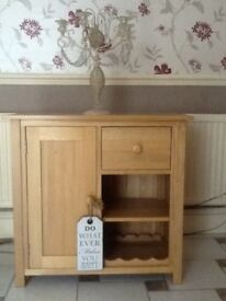 Wine rack dresser sideboard