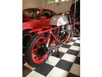 Moto Guzzi Le Mans Lemans fuel tank. Cafe racer. The tank shop
