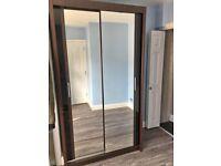 🤩Mega Sale😍Brand New Chicago Sliding Mirror Door Wardrobe🤩Fast Delivery😍