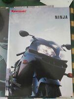 Kawasaki Serie Ninja Zxr 2002 Catalogo Brochure Depliant -  - ebay.it