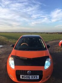 Fiat grand punto sporting complete respray