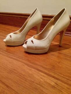 MIMCO Bridal Collection Size 9 Peep toe Heels Cronulla Sutherland Area Preview