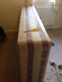 Single divan base and mattress, clean condition.