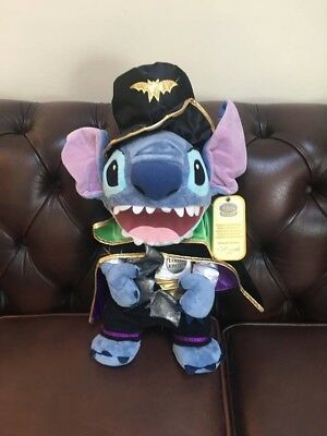 Disney Store 2009 Wizard Halloween Stitch Limited Edition Very Rare Number - Wizards Halloween Store