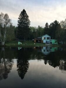Beautiful Lake Sesekinika year-round cottage!