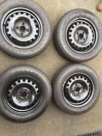 X4 Dunlop Dunlop Winter wheels & tyres