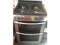 Belling Cooker. Double Electric Ovens & Gas Hob