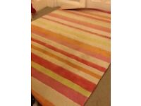 100% wool rug - large