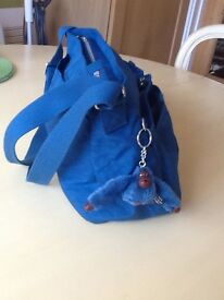 Beautiful medium cobalt colour Kipling bag