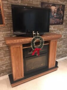 *Reduced Price! Must Sell! * Beautiful Custom Built Fireplace