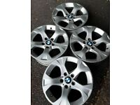 "17"" BMW style 317 X1 E84 alloy wheels (284)"